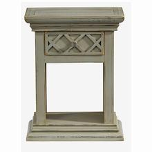 See Details - Nightstand - Antique Gray Finish