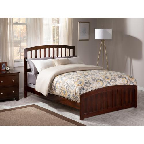 Richmond Full Bed with Matching Foot Board in Walnut