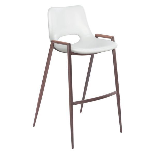See Details - Desi Bar Chair White