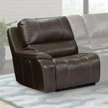 POTTER - WALNUT Power Left Arm Facing Recliner