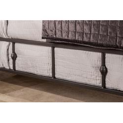 Westgate Side Rail - King - Rustic Black
