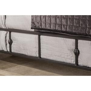 Westgate Side Rail - King - Rustic Black
