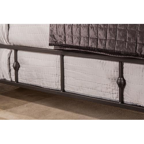 Gallery - Westgate Side Rail - King - Rustic Black