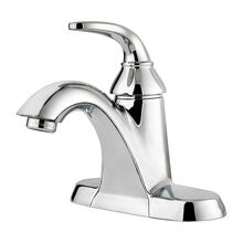 Polished Chrome Single Control Bathroom Faucet