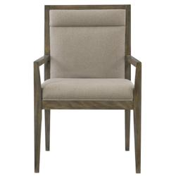 Profile Arm Chair in Warm Taupe (378)