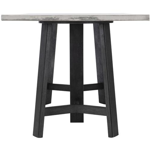 Gallery - Harding Pub Table in Midnight Black Finishes Available Glacier White (WW1) Midnight Black (BW1) Weathered Greige (GW1) Description Rectangular table top wrapped in stainless steel Three legged wire brushed wood base Adjustable glides Note: Due to size of table top, must be used with two (2) 305-954W bases Options Note: Optional glass top available, but recommeneded to prevent scratching of metal top. Order with 305-223G. To order in the available wire brushed finishes, specify the 3-digit finish number. Also available in non-wire brushed finishes - Cocoa, Portobello and Smoke. See 305-223 & 305-954N . Specifications subject to change without notice. Due to differences in screen resolutions, the fabrics and finishes displayed may vary from the actual fabric and finish colors. ALL RELATED PRODUCTS