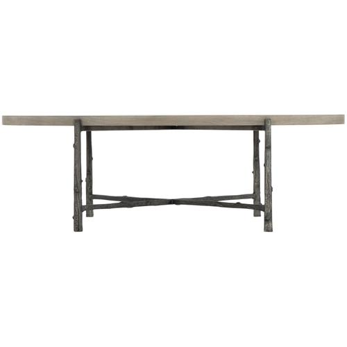Warford Oval Cocktail Table