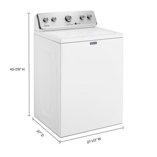 Gallery - Large Capacity Top Load Washer with the Deep Fill Option - 3.8 cu. ft.