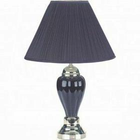 ACME Pottery Table Lamp (Set-6) - 03330-BK - Black