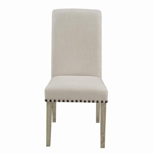 Gallery - Taylor Beige Upholstered Parson Dining Chair