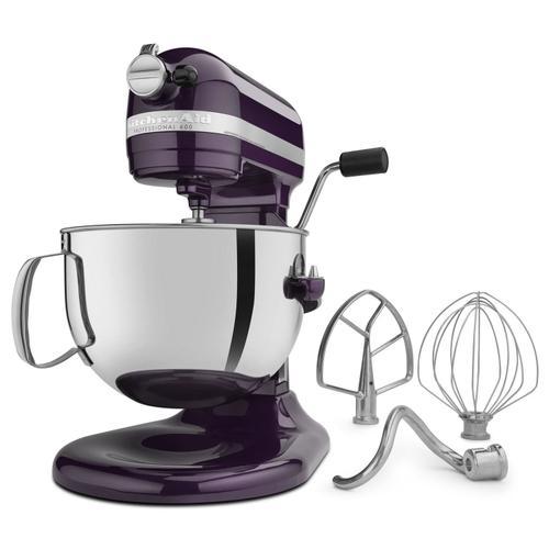 KitchenAid - Pro 600 Series 6 Quart Bowl-Lift Stand Mixer Plumberry