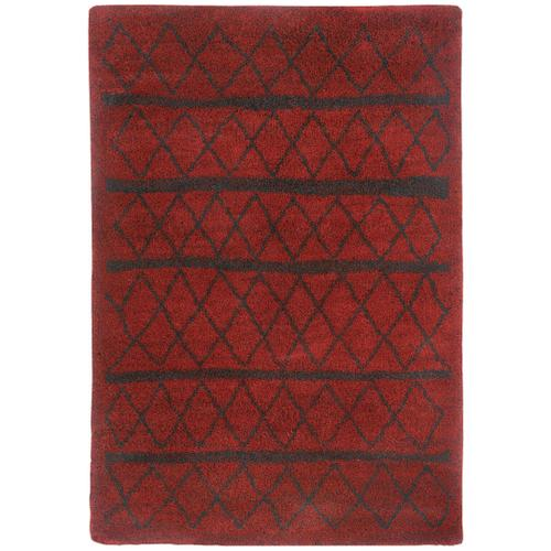 Tangier Red Machine Woven Rugs