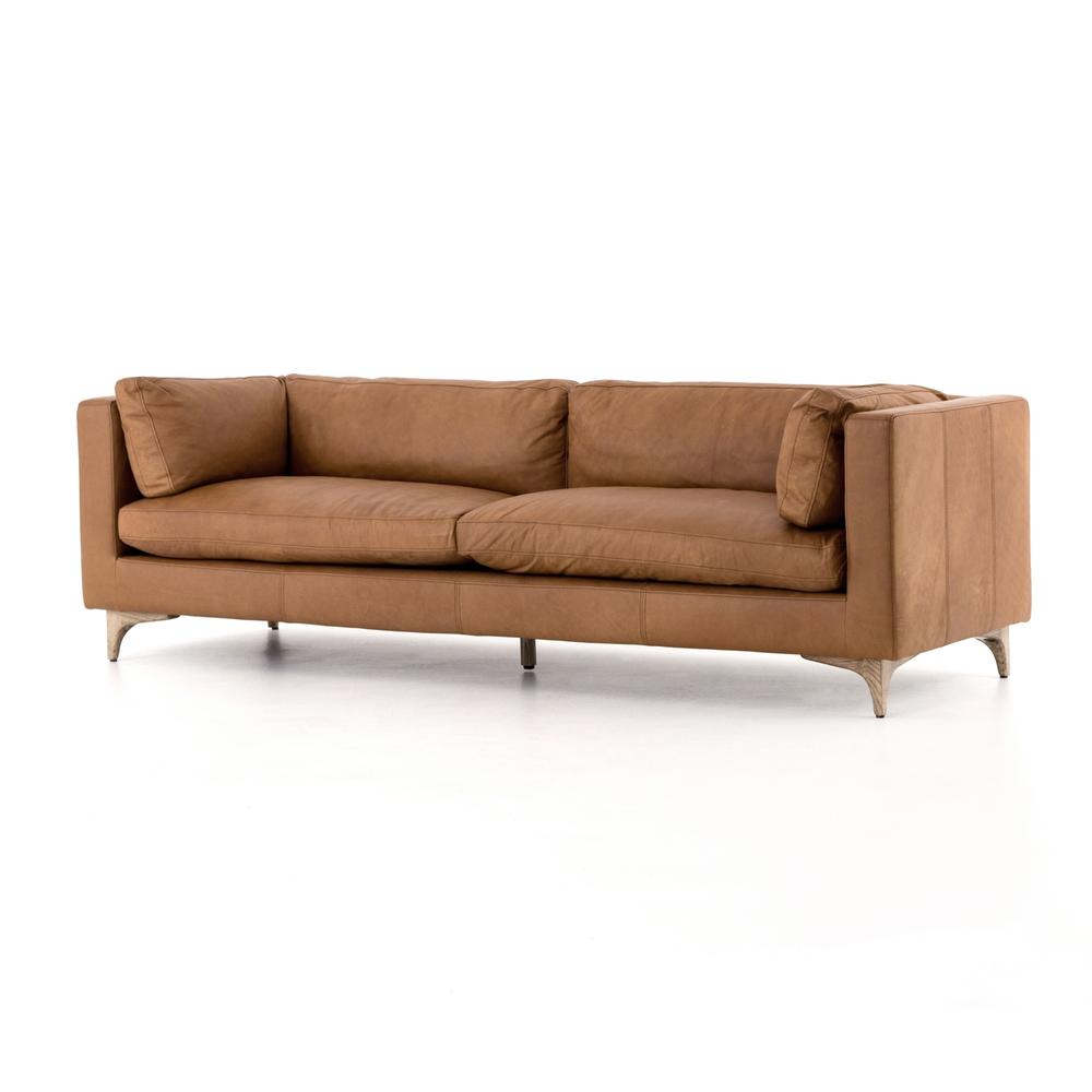 See Details - Natural Washed Camel Cover Beckwith Sofa
