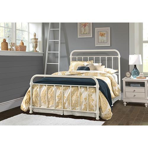 Kirkland Full Bed Set - Soft White