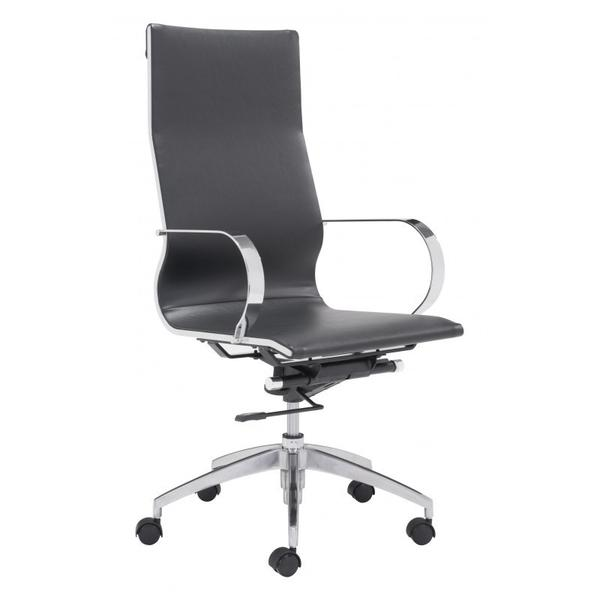 Glider High Back Office Chair Black