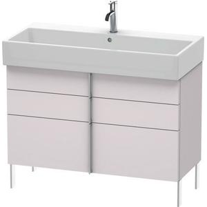 Vanity Unit Floorstanding, White Lilac Satin Matte (lacquer)