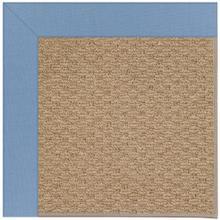 View Product - Creative Concepts-Raffia Canvas Air Blue - Rectangle - Custom