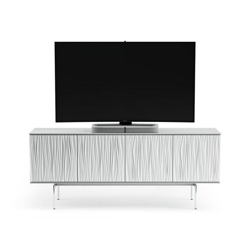 7109 Storage Credenza in Smooth Satin White