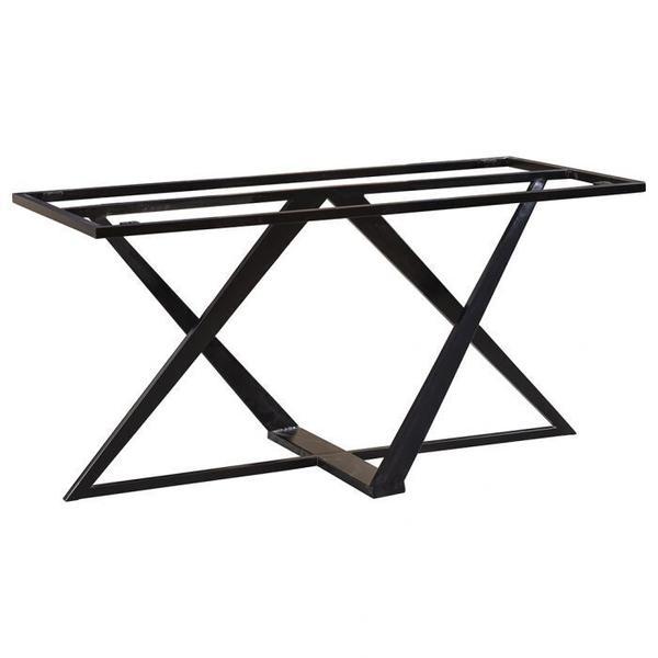 See Details - Metal Twist Dining Base