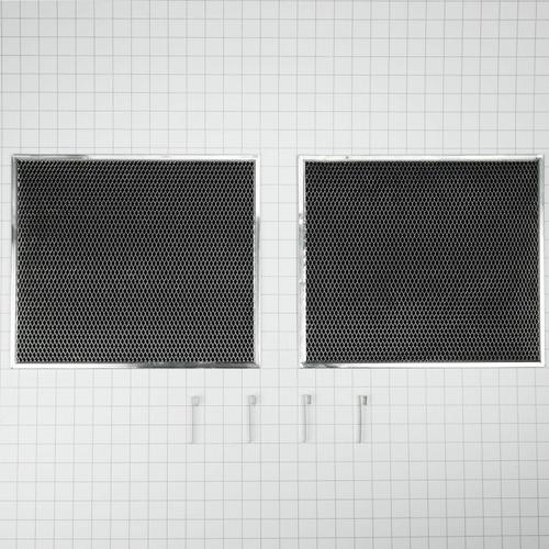 KitchenAid - Range Hood Replacement Charcoal Filter Kit - Other