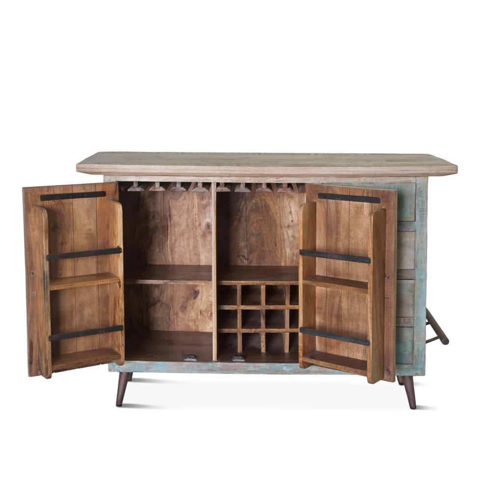 Ibiza Reclaimed Wood Bar