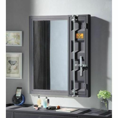 Acme Furniture Inc - Cargo Vanity Mirror
