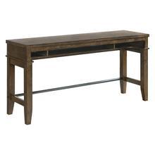 See Details - Kona Sofa Bar Table  Raisin