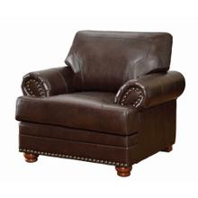 See Details - Colton Traditional Brown Chair