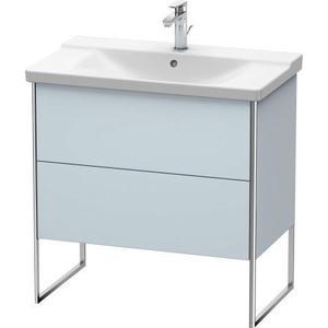 Vanity Unit Floorstanding, Light Blue Satin Matte (lacquer)