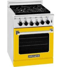 """See Details - 24"""" Residential Range Yellow Color"""
