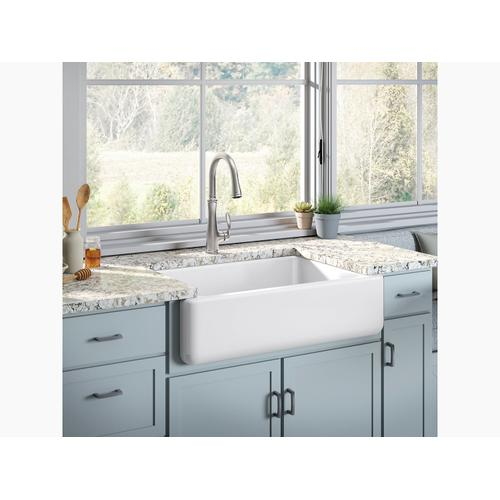 "Sandbar 32-11/16"" X 21-9/16"" X 9-5/8"" Undermount Single-bowl Farmhouse Sink"
