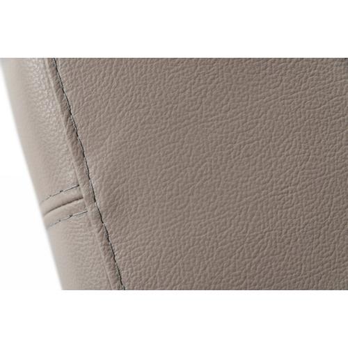 VIG Furniture - Accenti Italia Merlino - Modern Full Leather Grey Sofa Bed