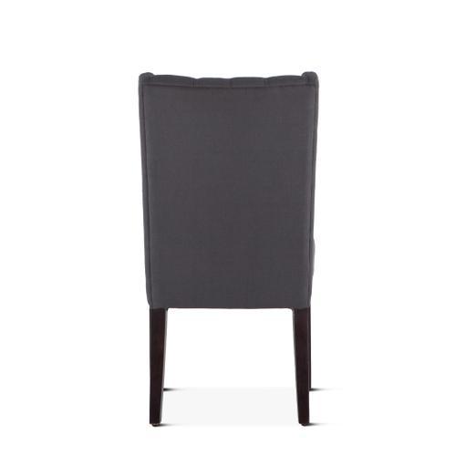 Lara Dining Chair Gray with Dark Legs