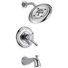 Chrome Monitor ® 17 Series H 2 Okinetic ® Tub & Shower Trim