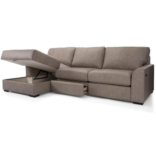 3786-49 LHF Storage Chaise