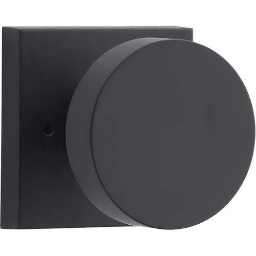 Satin Black Contemporary Reserve Knob