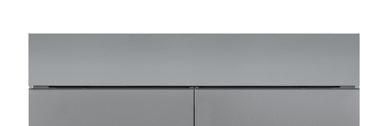 SubzeroStainless Steel Dual Flush Inset Grille Panel
