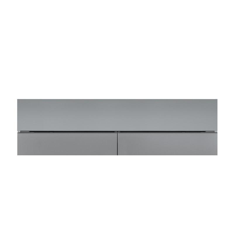 """60"""" Dual Flush Inset Stainless Grille Panel"""