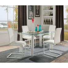 GORDIAS WHITE DINING TABLE