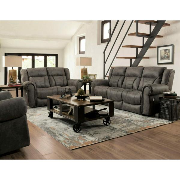 See Details - Power Headrest Loveseat with Console