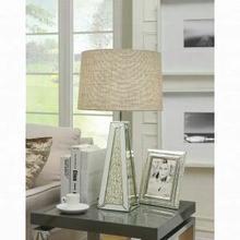 ACME Britt Table Lamp - 40123 - Mirrored & Chrome