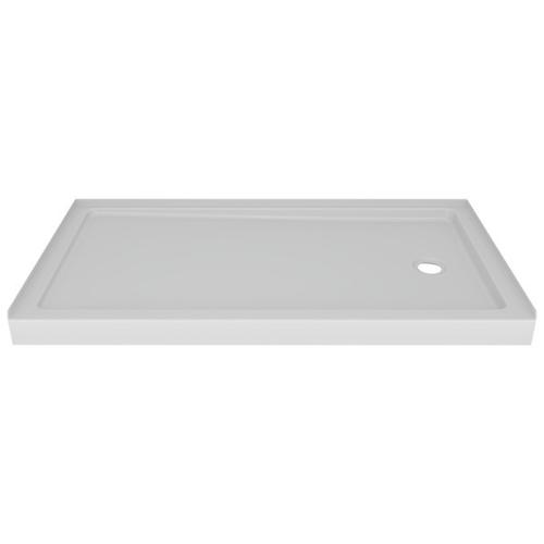 """Delta Faucet Company - High Gloss White 60"""" x 32"""" Shower Base Right Drain"""