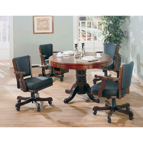 Product Image - Mitchell Traditional Merlot Game Chair