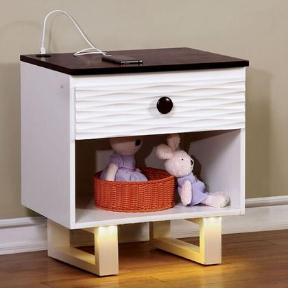 See Details - Meredith Night Stand W/ Usb Outlet