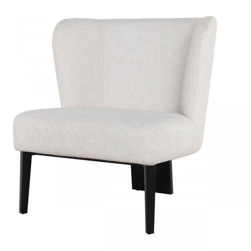 VIG Furniture - Divani Casa Ladean - Modern White Accent Chair