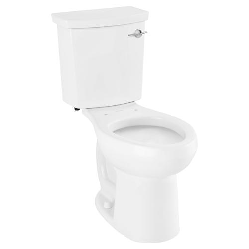American Standard - H2Option ADA Dual Flush Elongated Toilet  Right Hand Trip Lever  American Standard - White