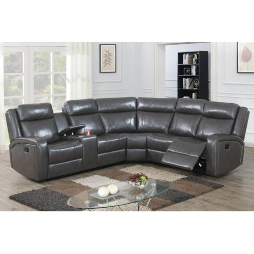 3-pc Power Reclining Sectional