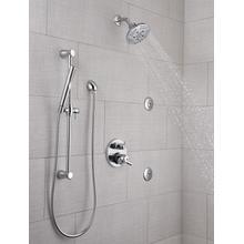 Chrome HydraChoice ® Body Spray - H 2 Okinetic ® Massaging Spray Head