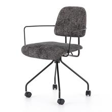 Radcliffe Desk Chair-camargue Charcoal