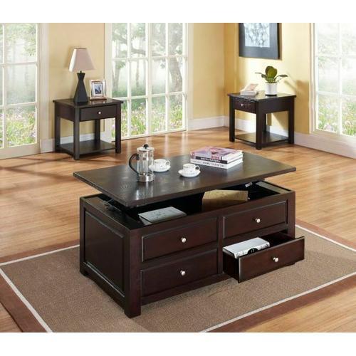Acme Furniture Inc - ACME Malden Coffee Table w/Lift Top - 80257 - Espresso